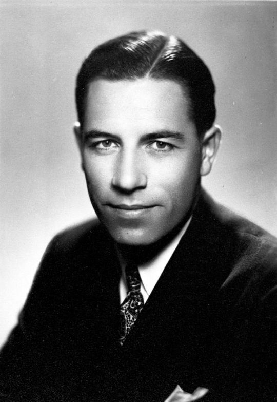 A young George Beverly Shea, as he started his singing career.